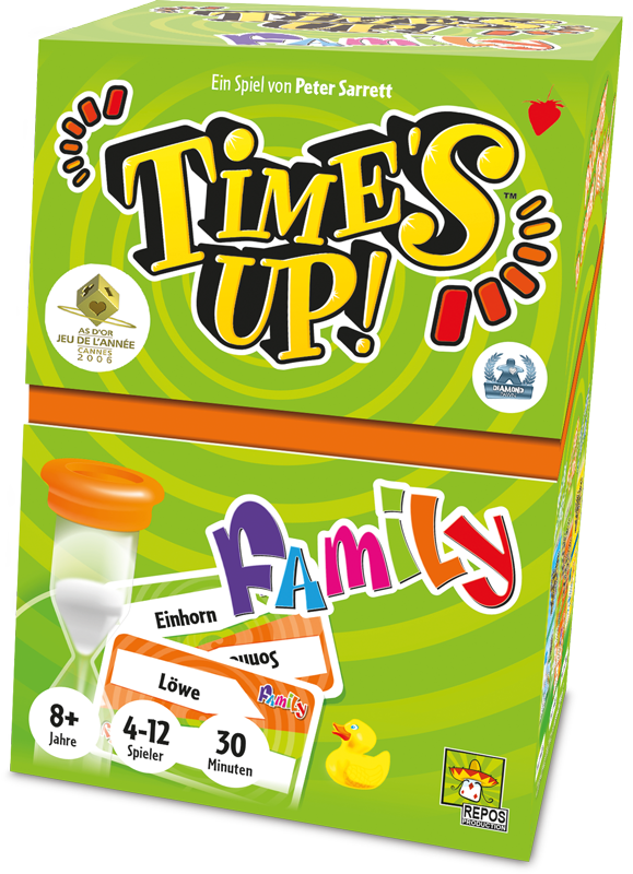 Boxshot für Time's Up! Family Brettspiel